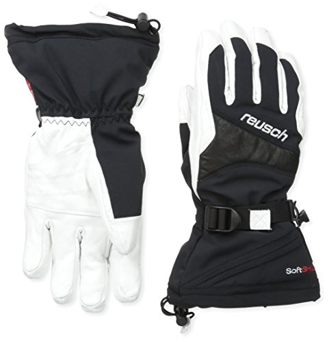 Reusch Snowsports Kelton R-Tex Gloves, Black/White, Large