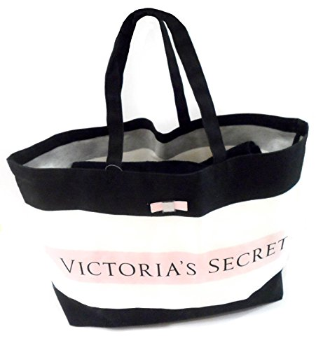 Victoria Secret , Borsa Messenger  nero Schwarz/Weiss/Pink