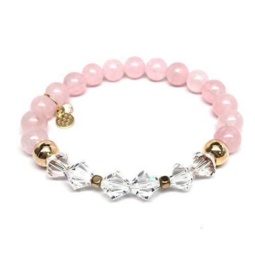 TFS Jewelry Swarovski Crystals Chloe Stretch Bracelet