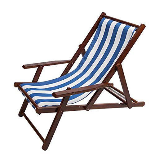 Beach Deck Chairs Reclining Garden Chair Adjustable Sun Loungers Zero Gravity Chairs Recliner Canvas Multifunction for Outdoor Patio