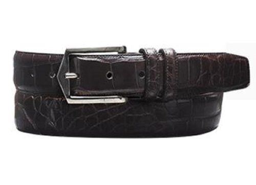 Mezlan Men's 7645 Belt Dark Brown 40