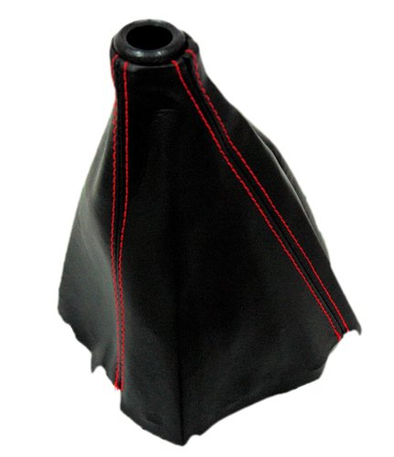 (VMS RACING RED STITCH SHIFT BOOT Compatible with Honda Acura Integra Type-R DC2 EK 93-01 1993-2001 JDM)