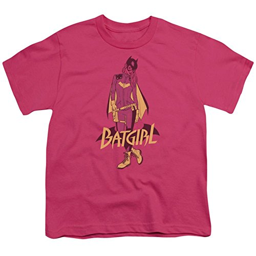 Trevco Youth: Batgirl- Rebirth Costume Update Kids T-Shirt Size YS