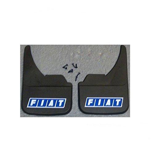 Wheels N Bits 002113A Blue logo Mudflaps Front Or Rear Car Van Camper SUV Mud Flaps Splash Guards:
