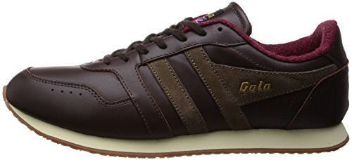 Gola Men's Track 1905 Fashion Sneaker,Brown/Taupe,10 M US
