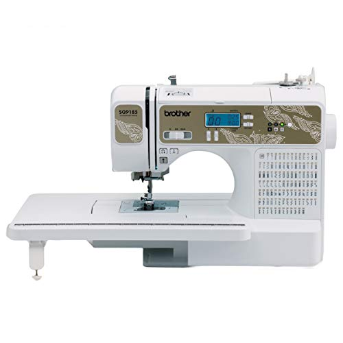 Brother RSQ9185 Refurbished computerized sewing and quilting, white