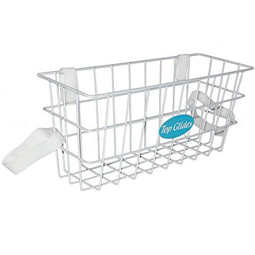 Walker Basket - Top Glides Deluxe Wire Walker Basket