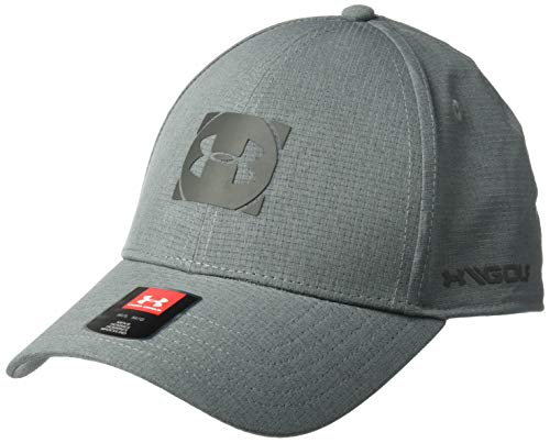 Under Armour Official Tour Cap 3.0, Pitch Gray//Jet Gray, Large/X-Large