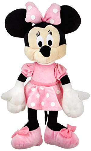 Disney Minnie Plush, Multi Color (12-inch)