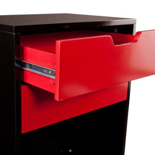 Southern Enterprises Sutton 2-Drawer Multipurpose Storage Cabinet