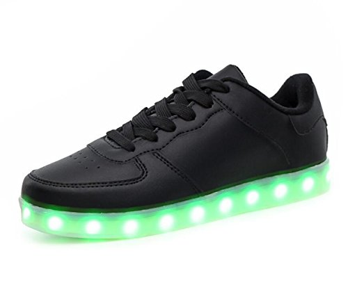 Leisure LED Luminous Trainers Sports Light Charging Up Skateboard Ishowstore Shoes Unisex Sneakers Couples USB gwRqwvT