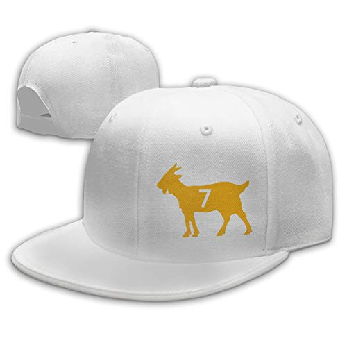 Moore Me Adjustable Baseball Cap Black Pittsburgh Roethlisberger Goat Cool Snapback - Fathead Helmet