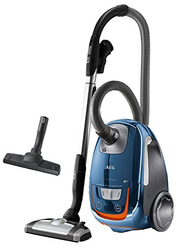 AEG UltraSilencer USENERGY+ 61 dB Vacuum Cleaner with Bags (700 Watt, AeroPro Silent Floor Nozzle...