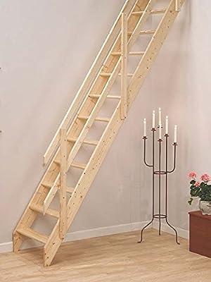 Escaleras de madera Laddaway Lisboa Loft - fácil que puedes hacer tú montaje escaleras de madera. Para floor to floor alturas hasta 2,835 m (283,46 cm): Amazon.es: Bricolaje y herramientas