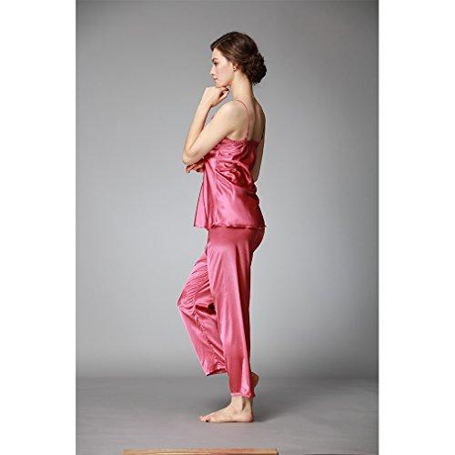 Corallo Raso da Vestaglie Pigiami Camicie e Accappatoi BOYANN Kimono Rosso Allattamento Notte e Donna U7q47w