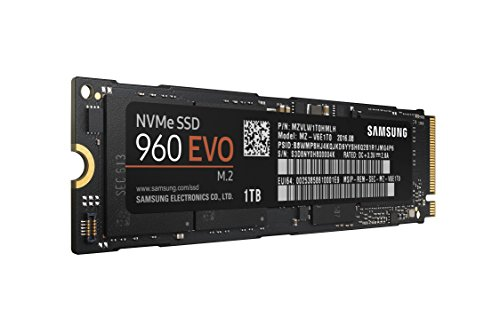 Click to buy Samsung 960 EVO Series - 1TB PCIe NVMe - M.2 Internal SSD (MZ-V6E1T0BW) - From only $467.75