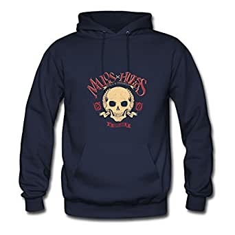 Customizable Abstract Skull T-shirts,abstract Skull Shirts,abst Cotton Women Different X-large Sweatshirts Navy