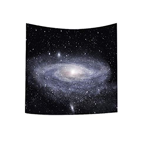 Impressions Wall Tapestry - Jieou City Impression Hippie Tapestry Mandala Galaxy Wall Hanging Tapestry Colorful Fashion Milky Way Nature Landscape Tapestry Handicrafts Curtains Picnic Bedsheet for Bedroom Dorm Decor(H,93x75cm)