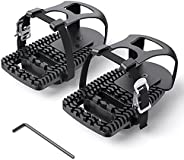 Toe Cages for Peloton Bike, Miden Compatible with Peloton Bike+ Pedal Toe Clips Cage- Indoor Cycling Exercise