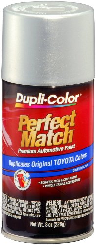 Metallic Titanium Finish - Dupli-Color BTY1615 Titanium Metallic Toyota Exact-Match Automotive Paint - 8 oz. Aerosol
