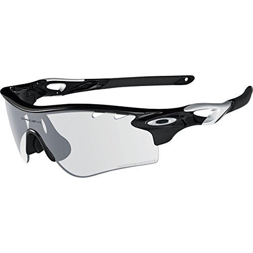 Oakley Men's Radarlock Path Shield Sunglasses, Polished Black, 138 - Oakley Radarlock Sunglasses