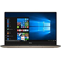 2017 Stylish Rose Gold Dell XPS 9360 13.3 Full HD InfinityEdge Touchscreen Ultimate Ultraportable Laptop, Intel Core i5-7200U Dual-Core, 8GB RAM, 128GB SSD, WIFI, Bluetooth, Webcam, Windows 10