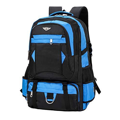 SQB Bolsa de hombro de 70 litros, mochila de viaje al aire libre de gran capacidad, bolsa de alpinismo para hombres, bolsa de viaje, bolso multifuncional, ...