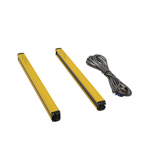 GW43-4-10 Safety Light Curtains safety protection sensor light screen& beams: 10 &Sensing height: 430mm (Customizable) with controller by CGOLDENWALL (Image #1)