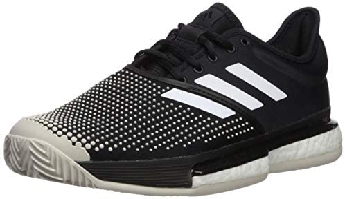 ADIDAS SOLECOURT BOOST CLAY BLACK WHITE G26293