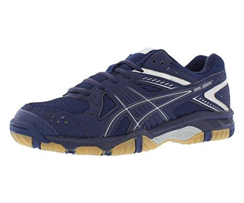 ASICS Women's Gel 1150V Volley Ball Shoe,Navy/Navy/Silver,8