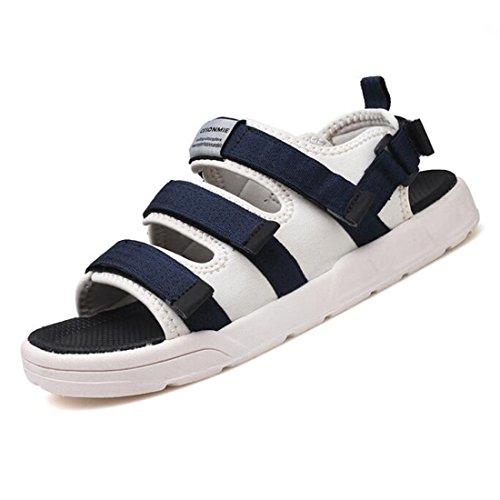 Moda Sandali Sandali Shoes Comfort Blue Estivi Uomo Trend Outdoor Beach da wxa1Iaf