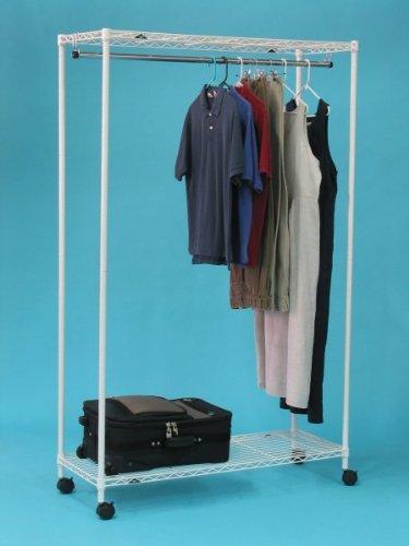 InterMETRO Special PrePacks White Garment Rack
