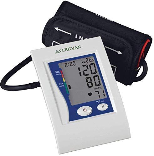 Veridian 01-5021 Automatic Premium Digital Blood Pressure Arm Monitor, Adult