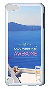 Brian114 Case, iPod Touch 5 Case, iPod Touch 5th Case Cover, Awesome Retro Protective Hard PC Back Case for iPod Touch 5 ( white )