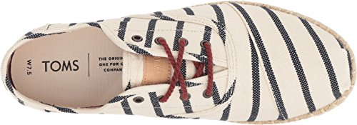 TOMS Women's Cordones Natural Stripe Woven 7 B US by TOMS (Image #1)