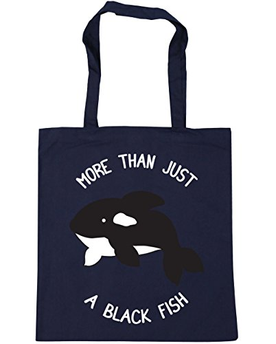 Than Shopping litres Gym Black 10 x38cm More Tote HippoWarehouse 42cm A Bag Beach Navy Fish French 5OqUgpYW