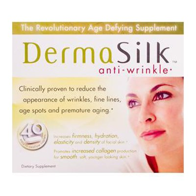 Biotech Corporation DermaSilk Anti-Wrinkle Treatment Supplements - 40 Capsules