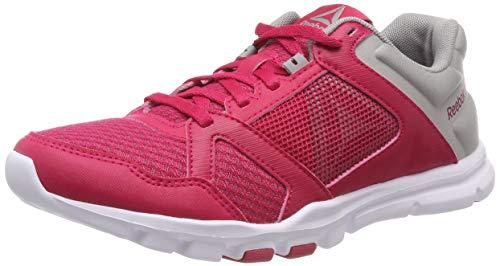 Zapatillas Grey Mt Reebok Rose tin Trainette De 10 Mujer Multicolor Deporte 000 rugged Para Yourflex white qtIOwIF4
