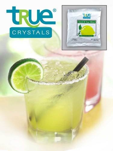 Kerry Food and Beverage True Crystal Sweet and Sour Drink Mixer, 24 Ounce -- 12 per case.