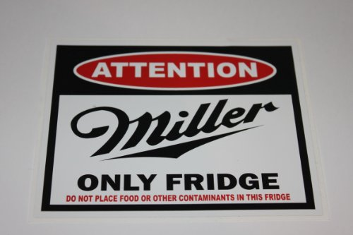 attention-miller-beer-fridge-decal-size-435x35-11x88cm-sticker-perfect-gift