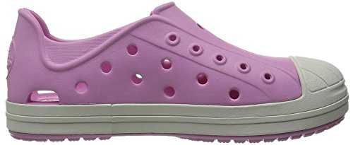 crocs Unisex-Kinder Bump it Shoe Kids Low-Top Pink (Carnation/Oyster)