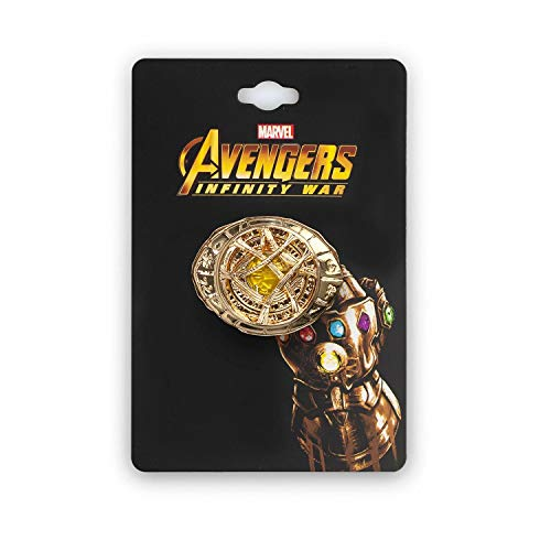 Marvel Enamel Pin Eye of Agamotto 3D Pin for Jacket, Backpack Gold