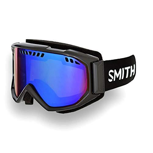 ec523c9957 Smith Optics Scope Adult Airflow Series Snow Snowmobile Goggles Eyewear -  Black/Green Sol X