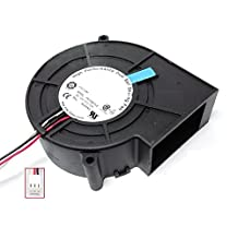 12V 0.72A Drum wind machine wheel ventilation fan projection server CPU fan F9733B12LE