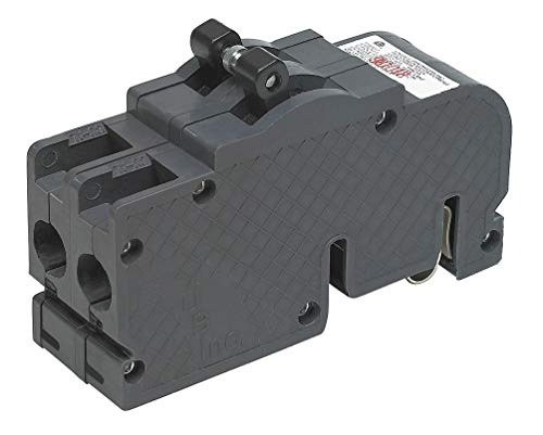 Zinsco Plug In Circuit Breaker, UBIZ, Number of Poles 2, 50 Amps, 120/240VAC, Standard - UBIZ250