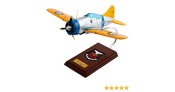 Mastercraft Collection F2A-2 Buffalo Plane Airplane Model Scale:1/24