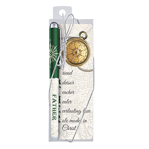 Dad Pen (Father Acronym Ballpoint Pen with Bookmark Gift Set)