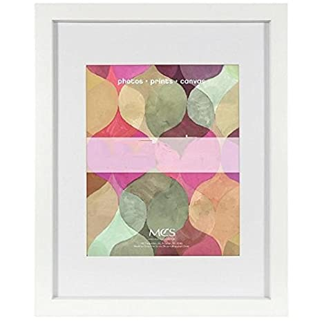 748d61f8ce18 Image Unavailable. Image not available for. Color: Art Shadow-Box 8x10/5x7  White Wood Frame w/1-3/