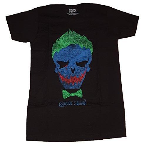 DC Comics Suicide Squad Joker Skull Graphic T-Shirt - Large