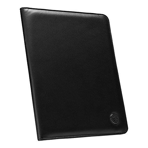 Case-it Executive - Carpeta con bloc de notas (tamaño carta), color negro, PAD - 30, Negro